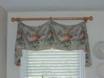 simple bell valance